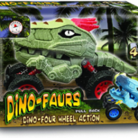 Dino-Faurs 4×4 Pull Back Toy