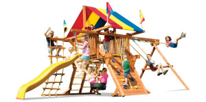 Sunshine Castle from Rainbow Play Systems