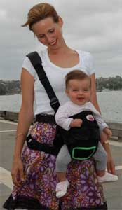 Snazzy Baby Mom's Deluxe 3 in 1 Plus Combo Carrier