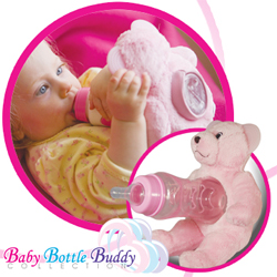 Baby Bottle Buddy by Petite Creations