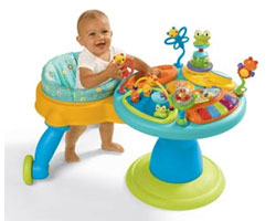 Bright Starts™ Doodle Bug Around We Go Baby Toddler Walk Around Learning Center Product Review