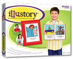 IlluStory Kids Write their Own Books! Kids Product Review Author Self Publish