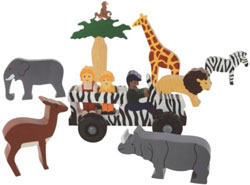 African Safari Playset from ImagiPlay Kids Toy Product Review