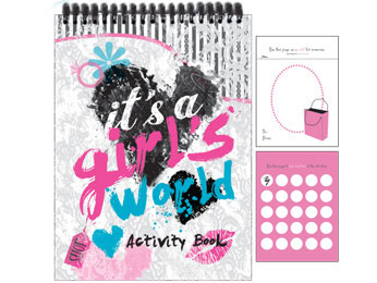 It's A Girl's World Activity Book