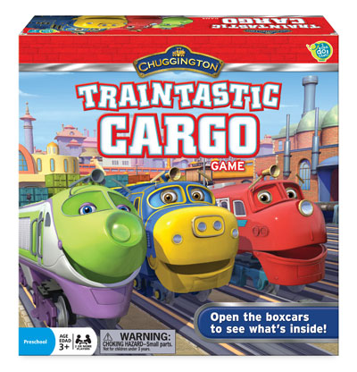 Chuggington Traintastic Cargo Game from The Wonder Forge