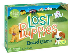 Lost Puppies Cooperative Board Game from Peaceable Kingdom