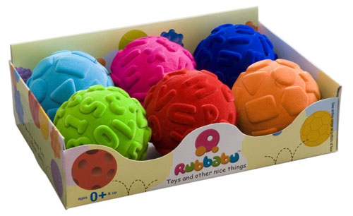 Rubbabu Funky & Educational Ball Assortment Packs