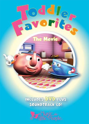 Toddler Favorites – The Movie – DVD & CD Baby Kids Learning Product Review