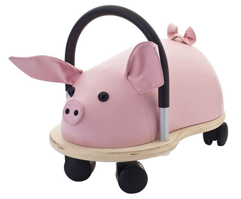 Prince Lionheart wheelyPIG Toddler Ride-On