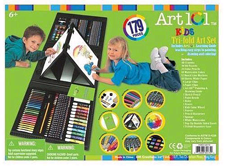 Art 101 Kids 179 Piece Double Sided Trifold Easel Art Set Product Review