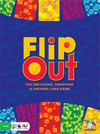 FlipOut™ – The Switching, Swapping and Swiping Card Game from Gamewright