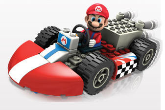 K'NEX Mario Kart Wii Mario and his Standard Kart Building Set