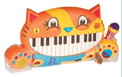 Meowsic Keyboard from B. Toys Product Review