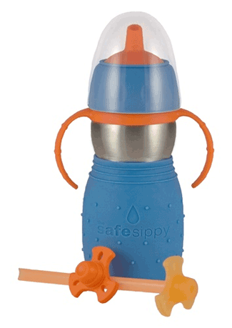 The Safe Sippy 2, 2-in-1 Sippy to Straw Bottle from Kid Basix Product Review