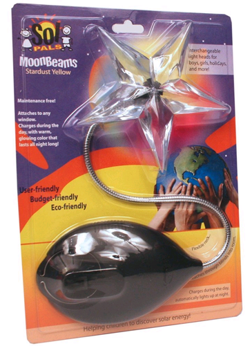 SolPals MoonBeams Solar Powered Night Light Baby Kids Product Review