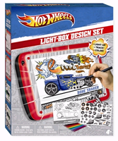 Hot Wheels Car Design Light Box Kids Art Toy Product Review