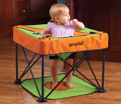 KidCo Go Pod Portable Activity Seat Baby Product Review