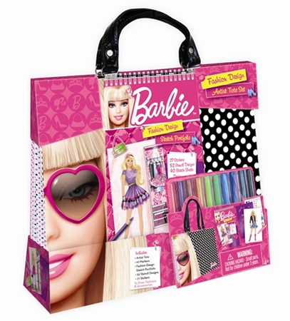 Barbie Fashion Design Artist Tote Set Product Review
