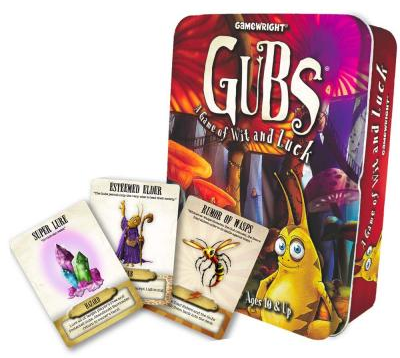 GUBS Strategy Card Game from Gamewright Kids, Teens & Tweens Product Review