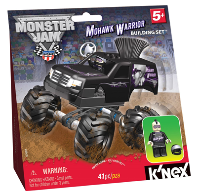 K'NEX Monster Jam Mohawk Warrior Building Set Kids Product Review