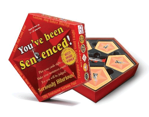 You've Been Sentenced Board Game for Teens and Tweens Product Review