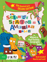 The Scrambled States of America Game – Deluxe Edition Kids Product Review