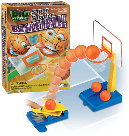 Super Shooter Basketball from Big Little Games and Patch Products Kids Product Review