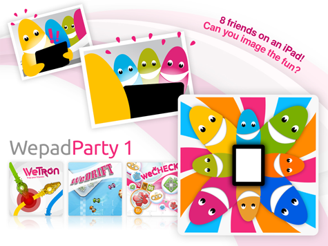 Wepad Party 1 – iPad Games App for the Whole Family Review