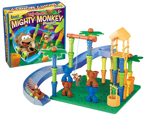 Mighty Monkey Playset from Patch Products Kids Product Review