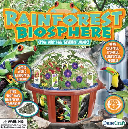 Rainforest Biosphere from DuneCraft Kids Product Review