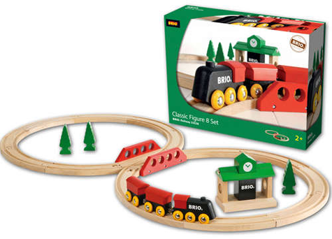 Brio Classic Figure 8 Train Set from Schylling Toys Kids Product Review