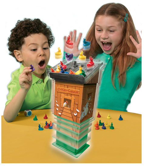 Cluck 'N' Chuck Kids Board Game Review from Patch Products