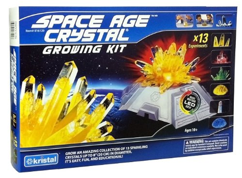 Space Age Crystals Deluxe Crystal Growing Kit with LED Base from Kristal Educational Kids Teens Tweens Product Review