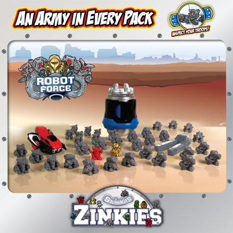 Squinkies Zinkies for Boys – Military Crew, Space Alliance, Robot Force Kids Product Review