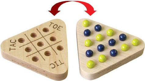 Tic Tac Jump from Maple Landmark Woodcraft Kids Game Product Review