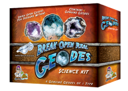 Discover with Dr. Cool – Break Open Real Geodes – Kids Teens Tweens Science Product Review