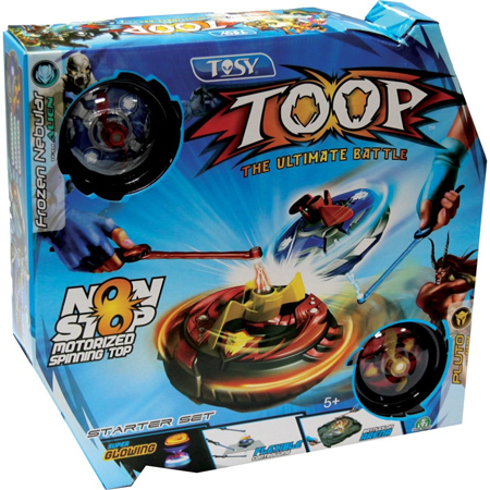 TOSY TOOP Non-Stop Battling Tops Kids Tweens Toy Product Review