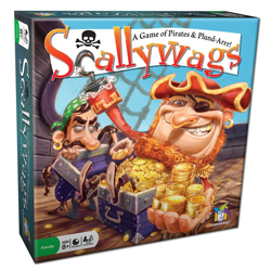 Scallywags Board Game from Gamewright Kids, Teens, Tweens Review