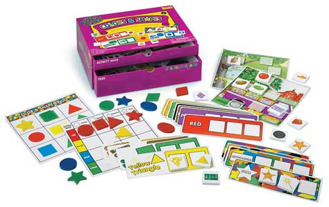 Early Learning Center Kit – Colors and Shapes from Patch Products and Lauri Toys, Back to School, Kids Product Review