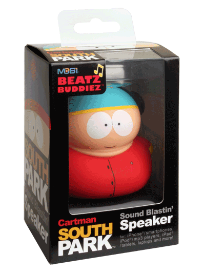 Mobi Beatz Buddiez Cartman from South Park Speaker Kids Teens Tweens Product Review