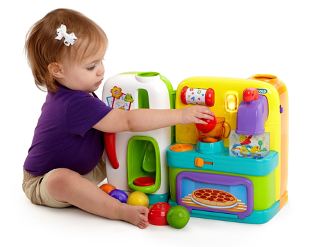 Bright Starts™ Having a Ball™ Get Cookin' Kitchen™ Baby Toddler Toy Product Review