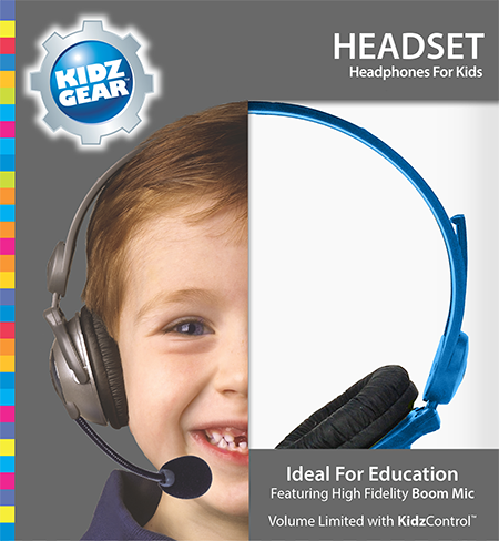 Kidz Gear Deluxe Stereo Headset Headphones Product Review for Kids