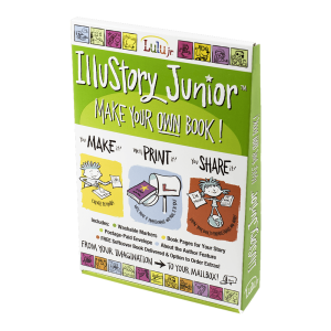 IlluStory Junior from Lulu Jr. Kids Book Making Product Review