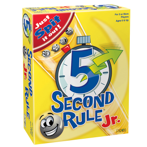 5 Second Rule® Jr. from Patch Products Kids Game Review