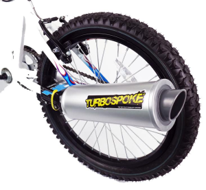 Turbospoke – The Bicycle Exhaust System Kids Bike Product Review