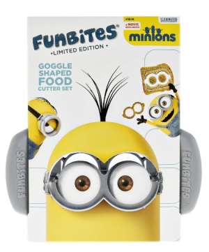 Minions FunBites Food Cutter Set Kids Food Product Review